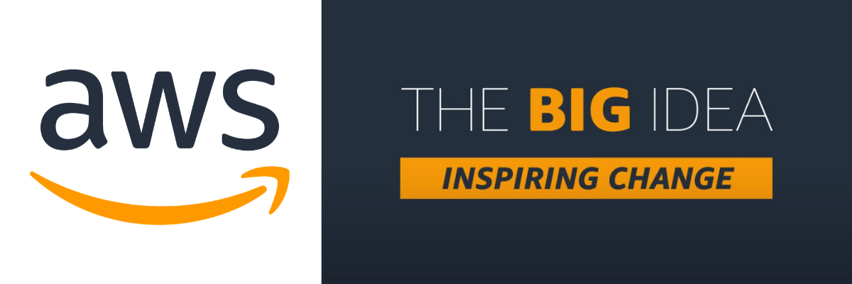 Amazon Web Services Logo: The Big Idea Inspiring Change