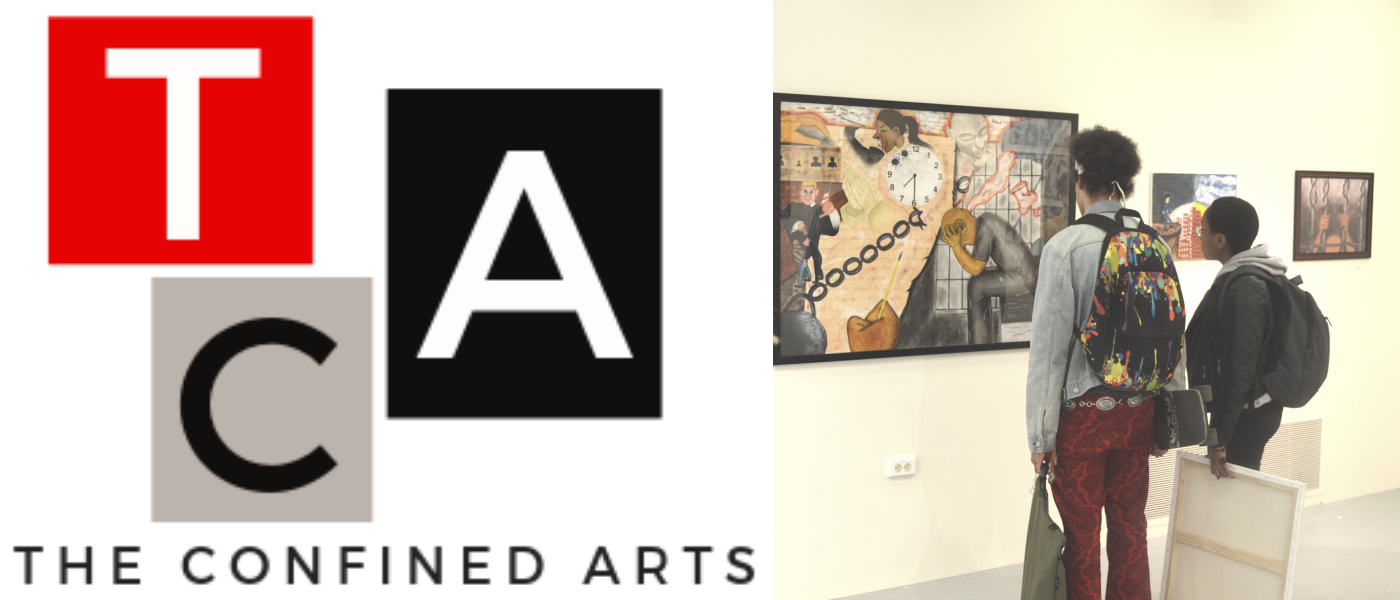 The Confined Arts Logo